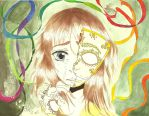 Covering mask of happiness by teika1997
