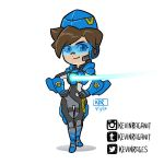 Cadet Oxton Overwatch Insurrection Tracer by KevinRaganit