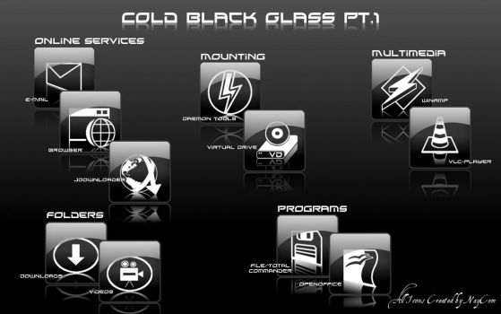 Cold Black Glass Pt.1 by NayCom