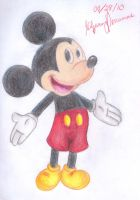 Mickey Mouse by Gilzean