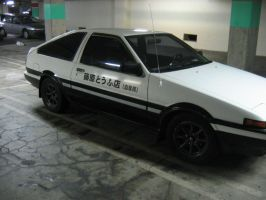 Initial D Cosplay Car 01 by Knightfourteen