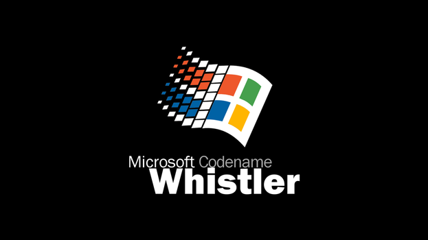 Microsoft Codename Windows Whistler Wallpaper by pavelstrobl