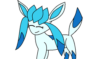Shiny glaceon by luisbonilla