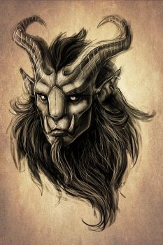 CO: Krampus concept II by TheTundraGhost