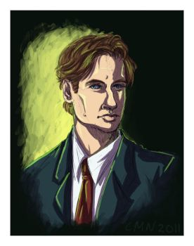 Agent Fox Mulder by CeeNot