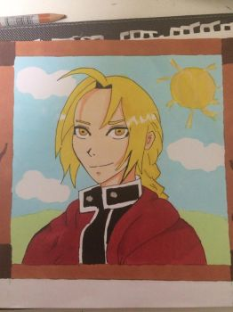 Edward Elric by GirlRanger