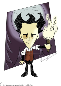 Wilson (Dont Starve) by Carlton-S-Banks