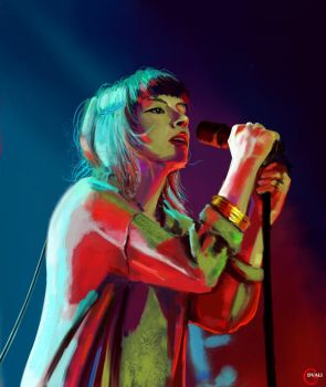Lauren Mayberry CHVRCHES by GiviDvali