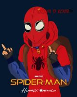 Spiderman Homecoming by KourAnimation