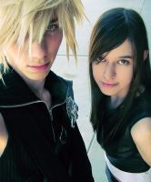 Cosplay: Cloud and Tifa by Raenstrife