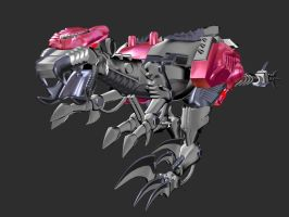 Dinobot Finished Beast Mode 4 by XSilverboltX
