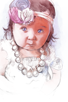 Portrait of a Child by Hyptosis