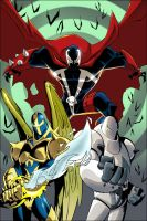adventures of spawn issue 1 by kennethfouche