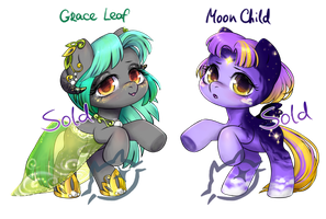 Chibi Girl Pony Adopts   CLOSED by CatMag
