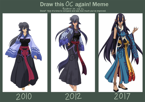 [Meme]Evolution of Otoko by CrimsonxScorpion