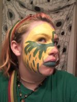 FaCe painting by JadeLila