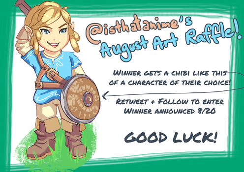 Twitter Art Raffle Giveaway! by Phinnimonster