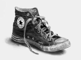 Worn-Out Converse by rotten-ralph