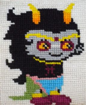 Feferi Cross Stitch by xXKuraikoXx