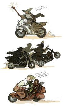 Lord of the Motorcycles by Turtle-Arts