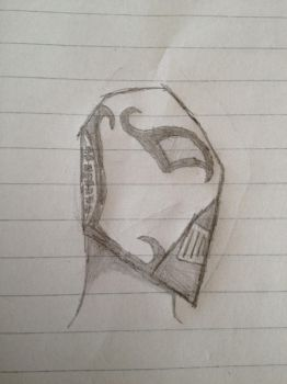 Free Sketch #2 Metal mask by JarexTheBrony