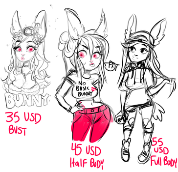 example commisions i can do STREAM by temporaryWizard