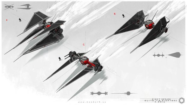 First Order : Tie Fighter by MackSztaba