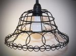 Wire Basket Lamp by ClassicRedo