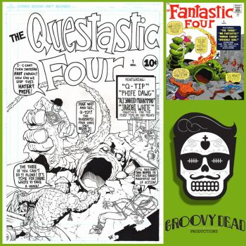 Questastic Four by GroovyDead