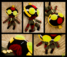 Chi Blocker Equalist plushie by pikminAAA