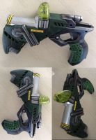Liquid plasma pistol part Nerf gun mod by GirlyGamerAU