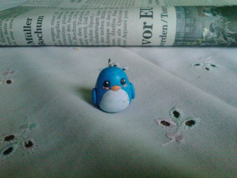 Fimo Penguin by Dessi-Goes-Gothic