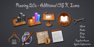 Roaring 20s - Additional OS X Icons by TheRoaring20s