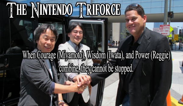 The Nintendo Triforce by JanetAteHer