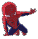 chibi - spiderman by northstation