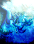 Under the sea with me - NoiAo AU- by KiraiRei