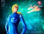 Samus Aran Metroid by shadow2007x