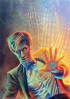 Doctor Who - Matt Smith by Mantina