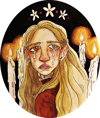 Weary Exhausted Flames of Light by plushjas