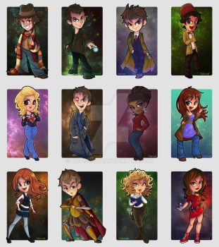 Doctor Who - The Cute Collection by cute-loot