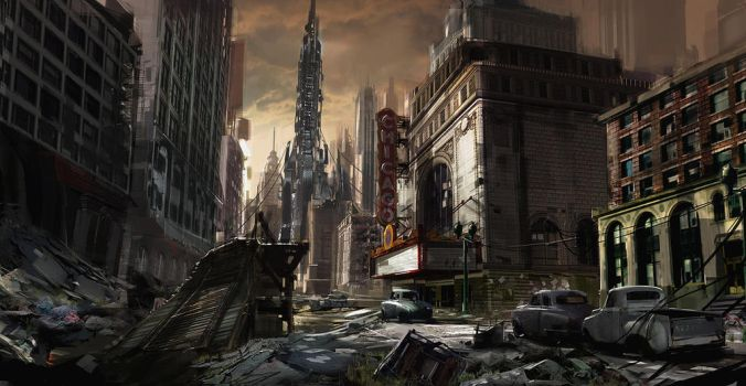 Resistance 2 Chicago by dee-virus