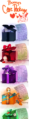 Bunny' care package Smollsters! by Bunnymuse