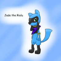 Jade the Riolu by KurtisTheSnivy