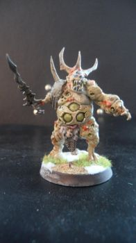 Nurgle herald front by Dible