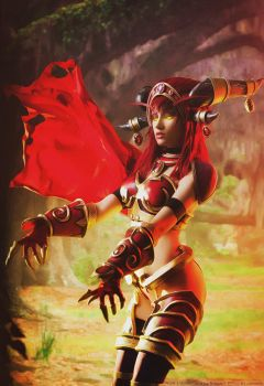 Alexstrasza, Queen of the Dragons by Narga-Lifestream