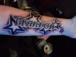 My Own Tatoo - Star Name Tattoo by AdamCareless
