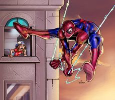 Spider Man by holyghost13th
