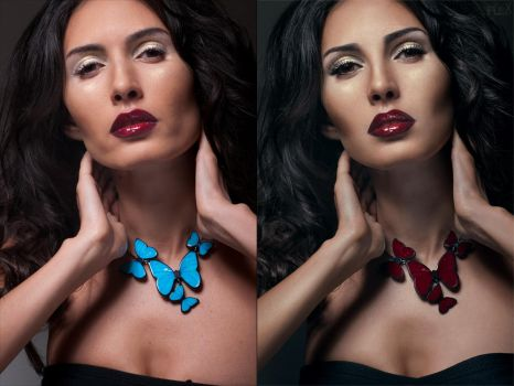 Beauty retouch by BigBad-Red