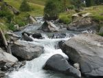 Water 30 - river in the rocks by Momotte2stocks