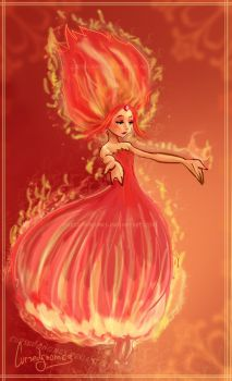 ..:Flame Princess:.. by cursedgnomes